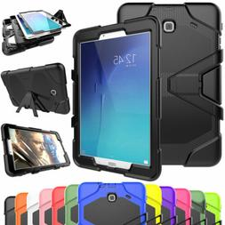 Hybrid Shockproof Rubber Case Screen Protector For Samsung G