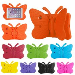 Kids Safe Butterfly Stand Rubber Shockproof Case Cover For S
