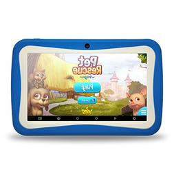 """Kids Tablet PC, 7"""" HD Eyes-Protection Screen Android 7.1 1GB"""
