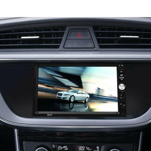 """2 DIN 7"""" Car Stereo MP5 FM Player Android/IOS Screen+Camera"""
