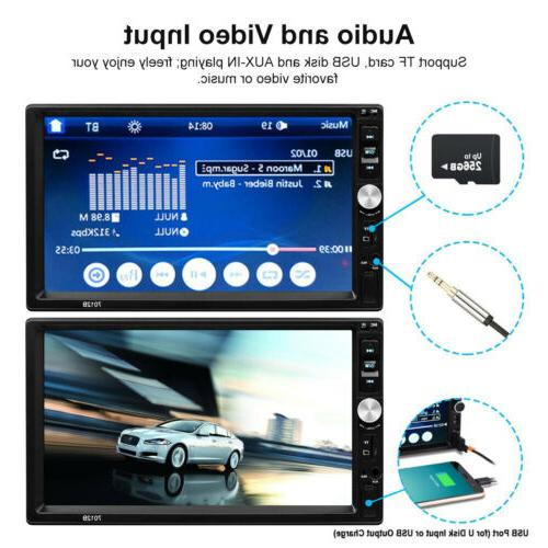 Stereo Player AUX Android/IOS Touch Screen+Camera