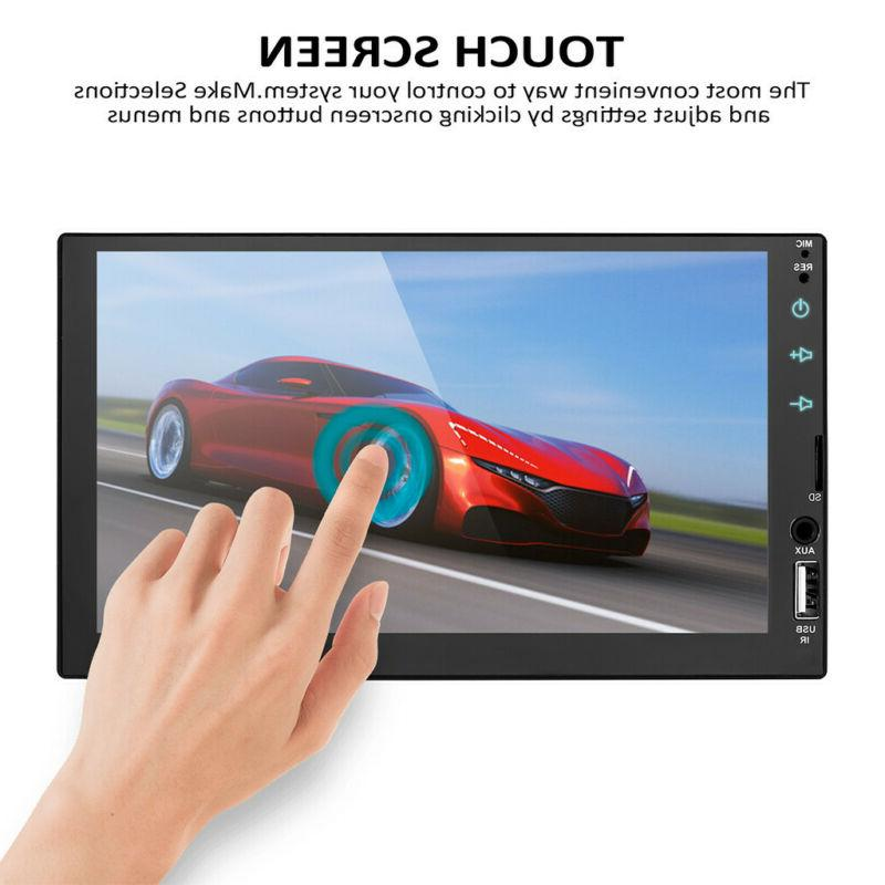 7inch Car FULL Touch Radio Player Audio+Camera