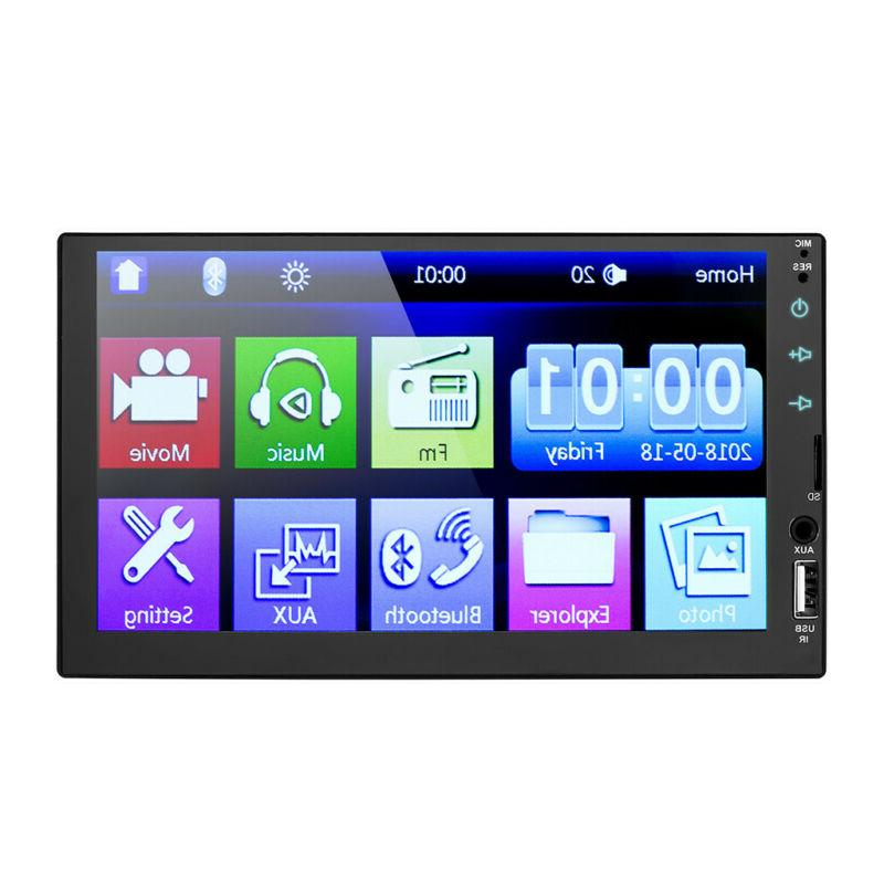 7inch 2DIN Touch Radio Player Audio+Camera
