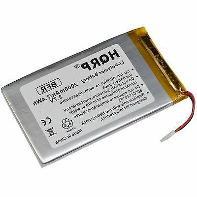2000mAh Battery for RCA Voyager II 8GB 7-Inch Touchscreen