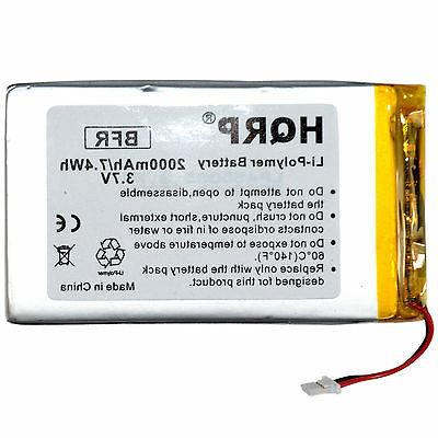 2000mah replacement battery for rca voyager ii