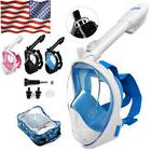 2018 New Version Full Face Diving Snorkel Mask Swimming Scub