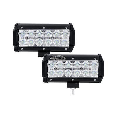 2x LED WORK LIGHT SPOT OFFROAD ATV FOG TRUCK LAMP 6""