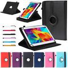 360° Rotating Universal PU Leather Stand Folio Case Cover F
