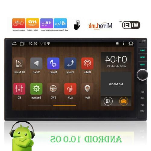 OCTA-CORE Bluetooth 7 inch Touchscreen GPS Stereo Car Radio