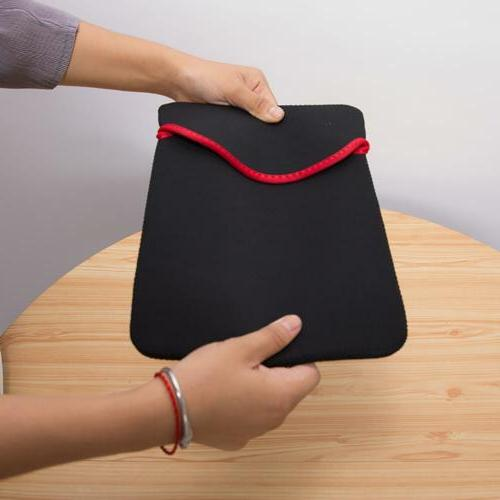 """7-14"""" Tablet Laptop Case Bags To Soft Cushion"""