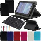 "US For 7"" 7-Inch Tablet Bluetooth Keyboard Universal PU Leat"