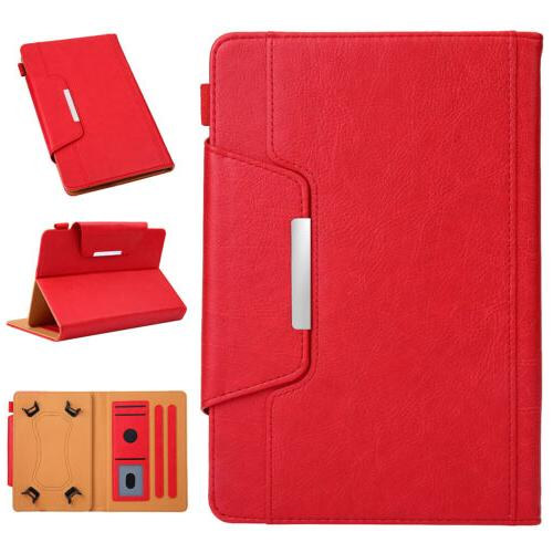 INCH Tablet Luxury Leather Pattern Cover