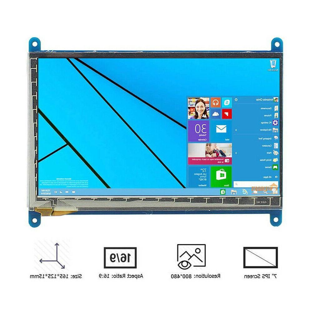 7 Inch Display Monitor 1024X600 touch Screen Pi 3B/B+