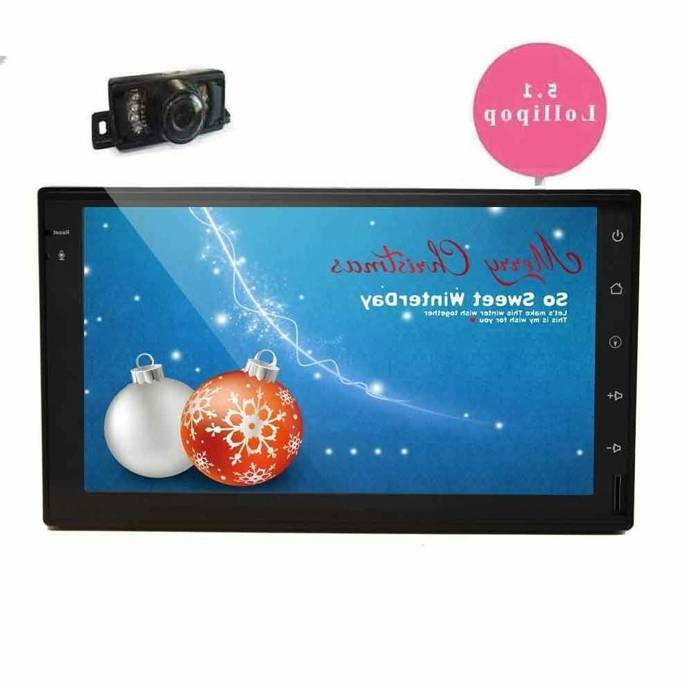 EinCar 7'' Android 5.1.1 Quad Core Double Din Car Radio Ster