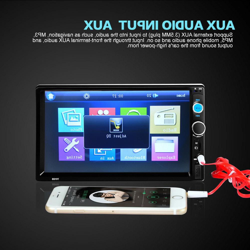 "7"" Double Car Player HD Touch"
