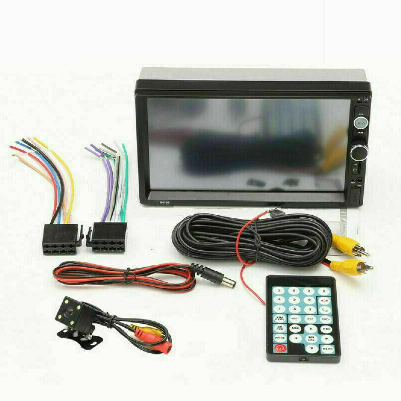 7 Double DIN Stereo Radio Touch