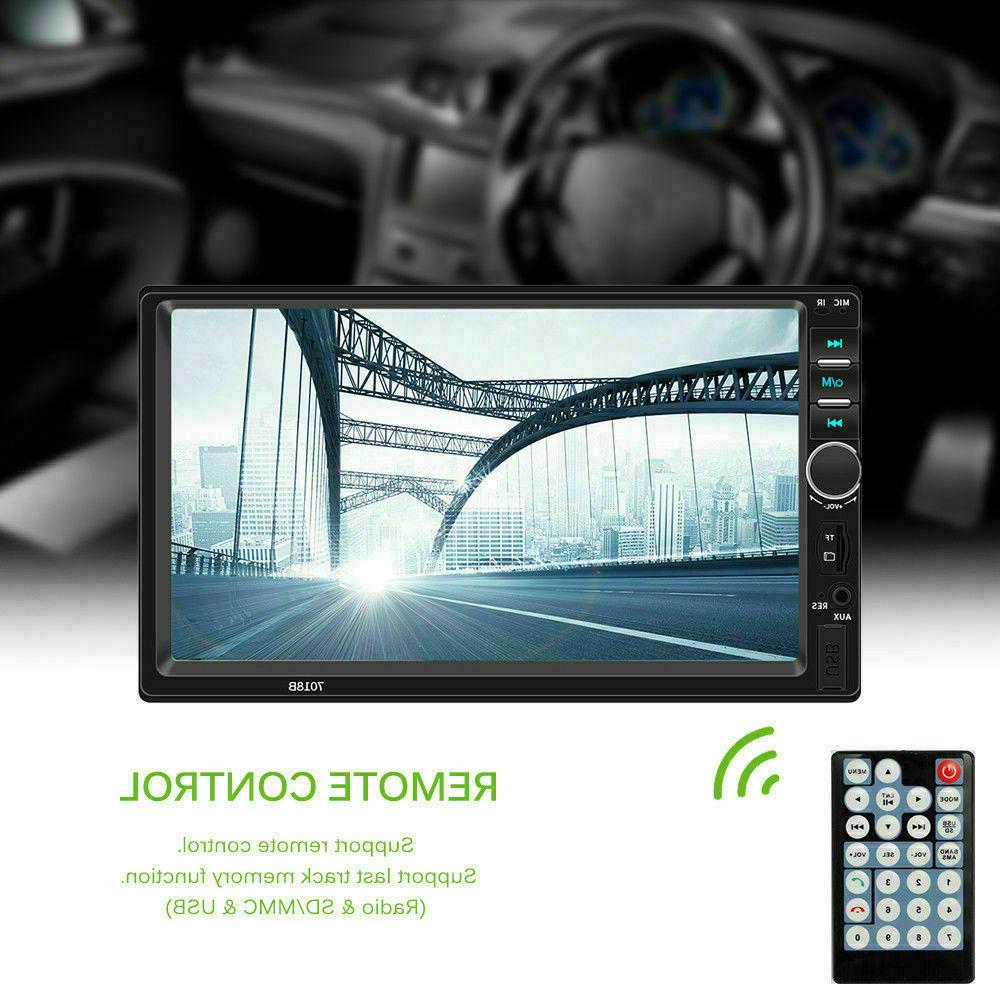 7 7018B DIN MP5 Stereo Player Touch Screen