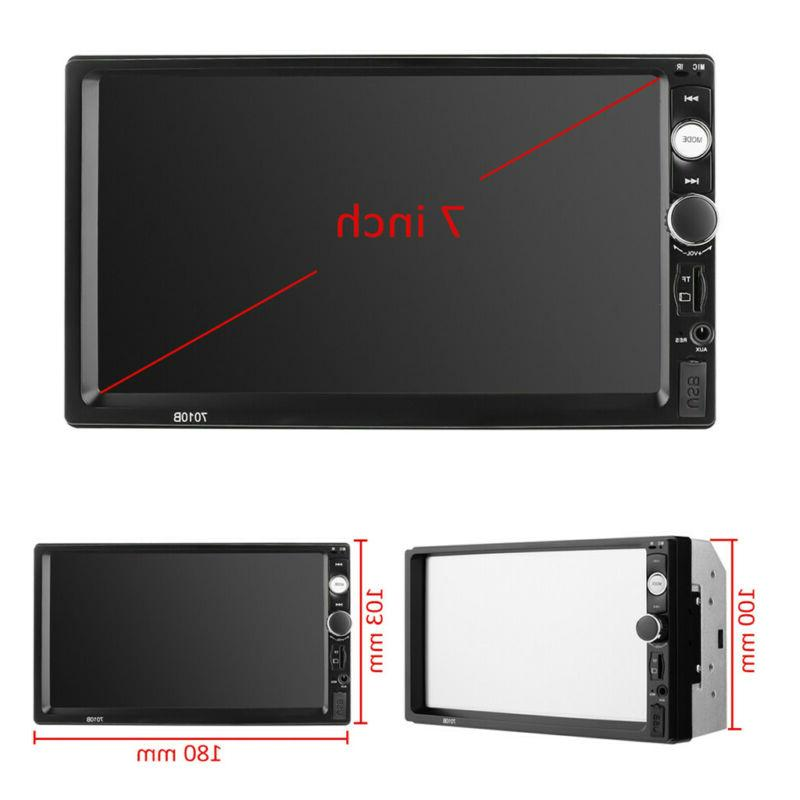 "7"" Inch Radio HD Player Touch Radio"