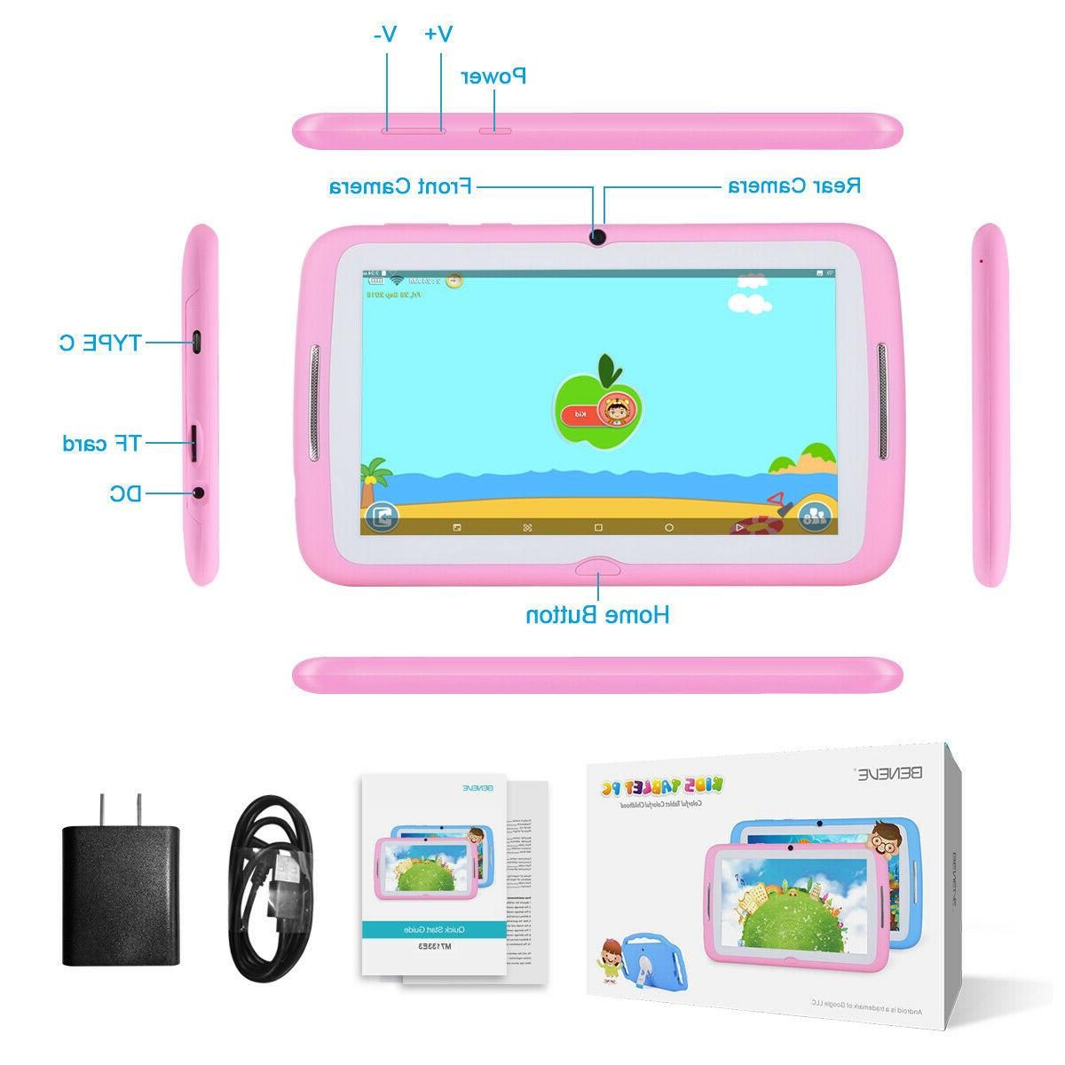 7'' 16GB Kids Tablet Dual WiFi Bundle
