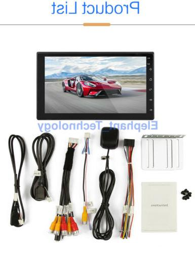 7 Inch 2 DIN Android GPS Navigation Player WIFI