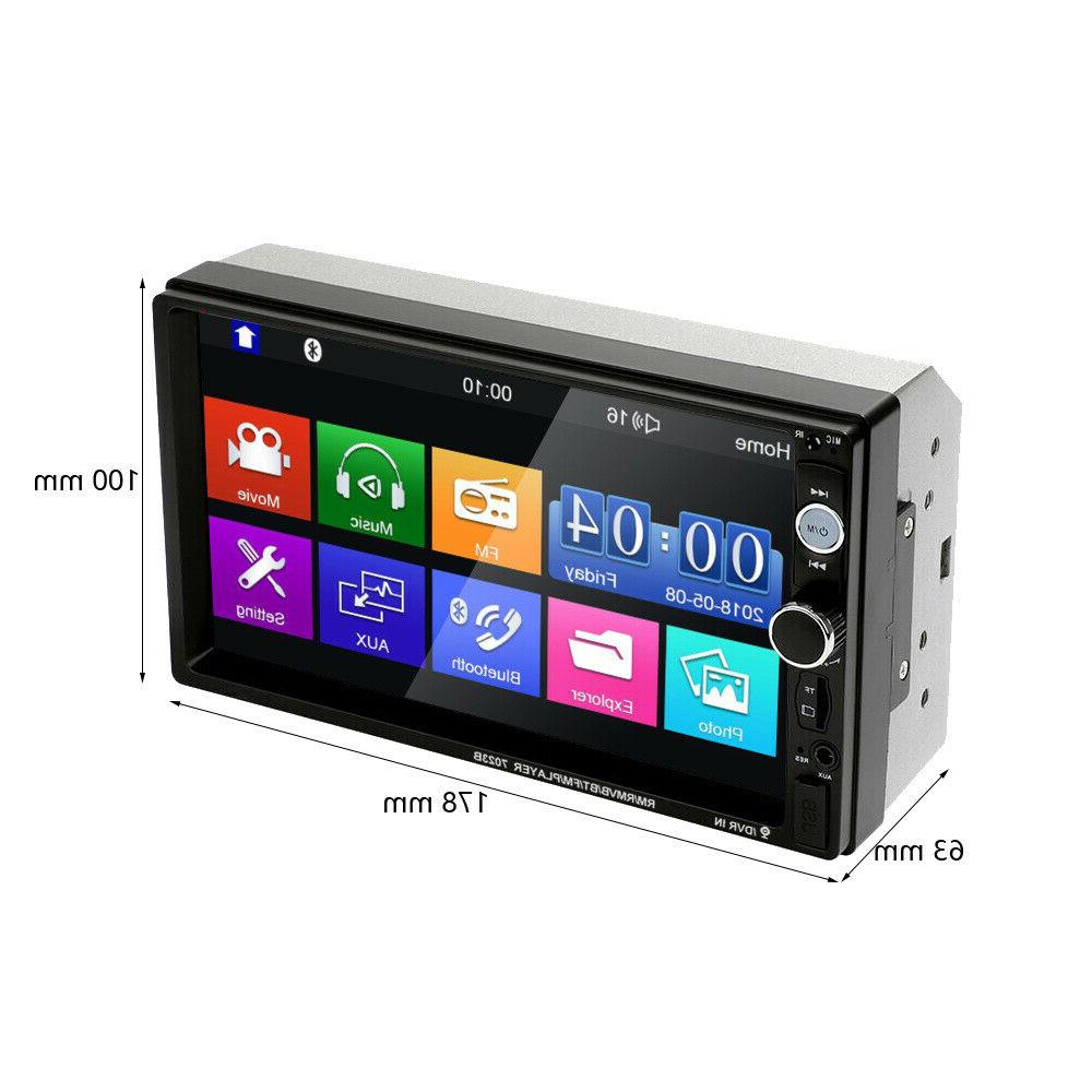 "7"" Inch Stereo Touch Bluetooth Mp5 +"