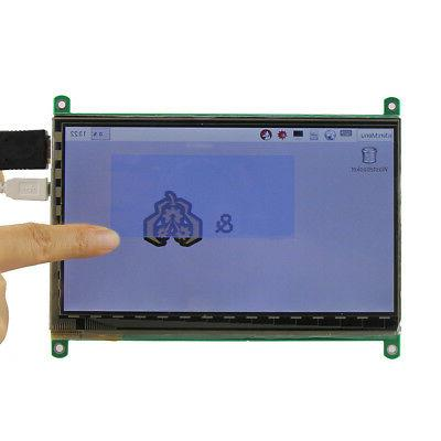7 inch 800x480 capacitive touch screen lcd
