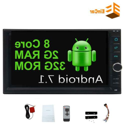 7 inch 8core rom 32g double 2din