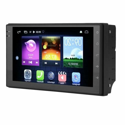 7'' Android 6.0 Double 2DIN Car Radio Stereo Navigation MX