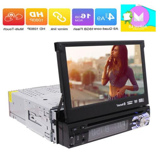7 Inch Android Single 1Din CD DVD Radio WiFi 4G