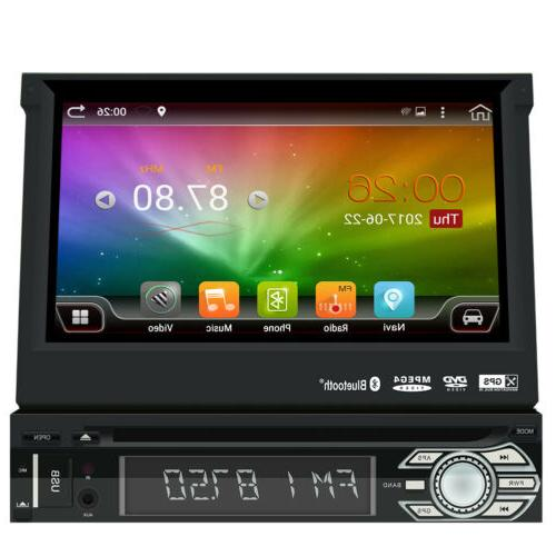 Single 1Din DVD Radio WiFi GPS No-camera