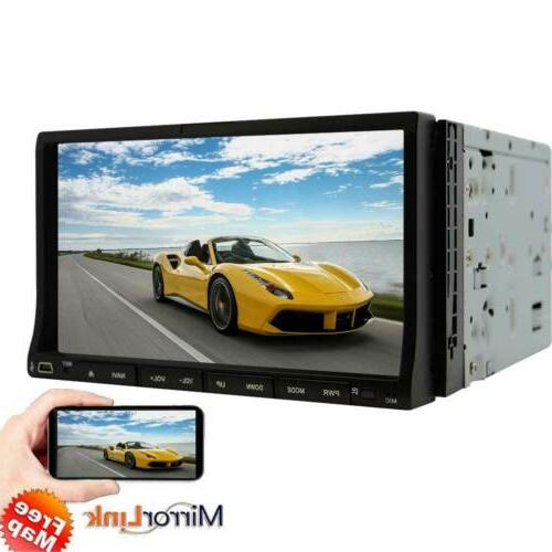 "7"" inch Android 7.1 2 DIN MP5 Player Screen"