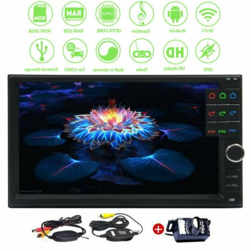 7 Inch Android 2+32gb 2-Din In-Dash Car Stereo GPS