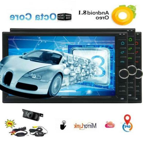 7 Inch 8.0 2+32gb In-Dash Car Navi GPS w/