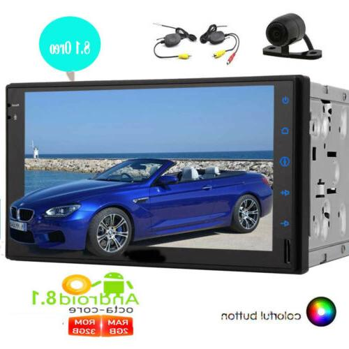 7 Inch 8.1 Double 2 Stereo Touchscreen Radio