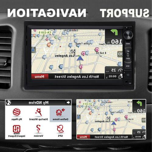 7inch Android Stereo Radio MP5 GPS CAMERA