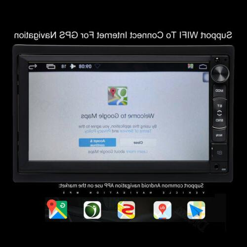 7inch 2DIN Android No-DVD MP5 GPS CAMERA