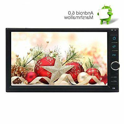 Eincar 7 inch Car Stereo Marshmallow Android 6.0 Double Din