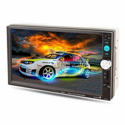 7Inch LED Car Stereo Player Touch Screen Radio