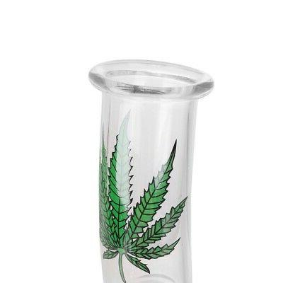 7 Water Bong Glass Collectible Leaf