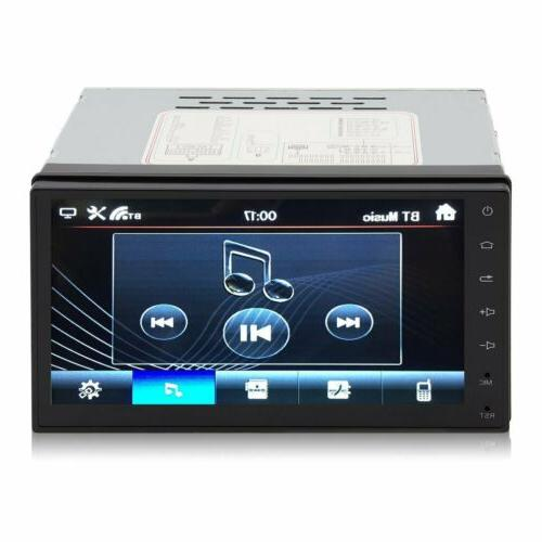7 DIN Bluetooth Stereo FM MP5 Player