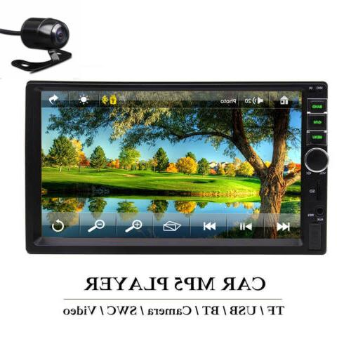 7 inch double 2 din car bluetooth