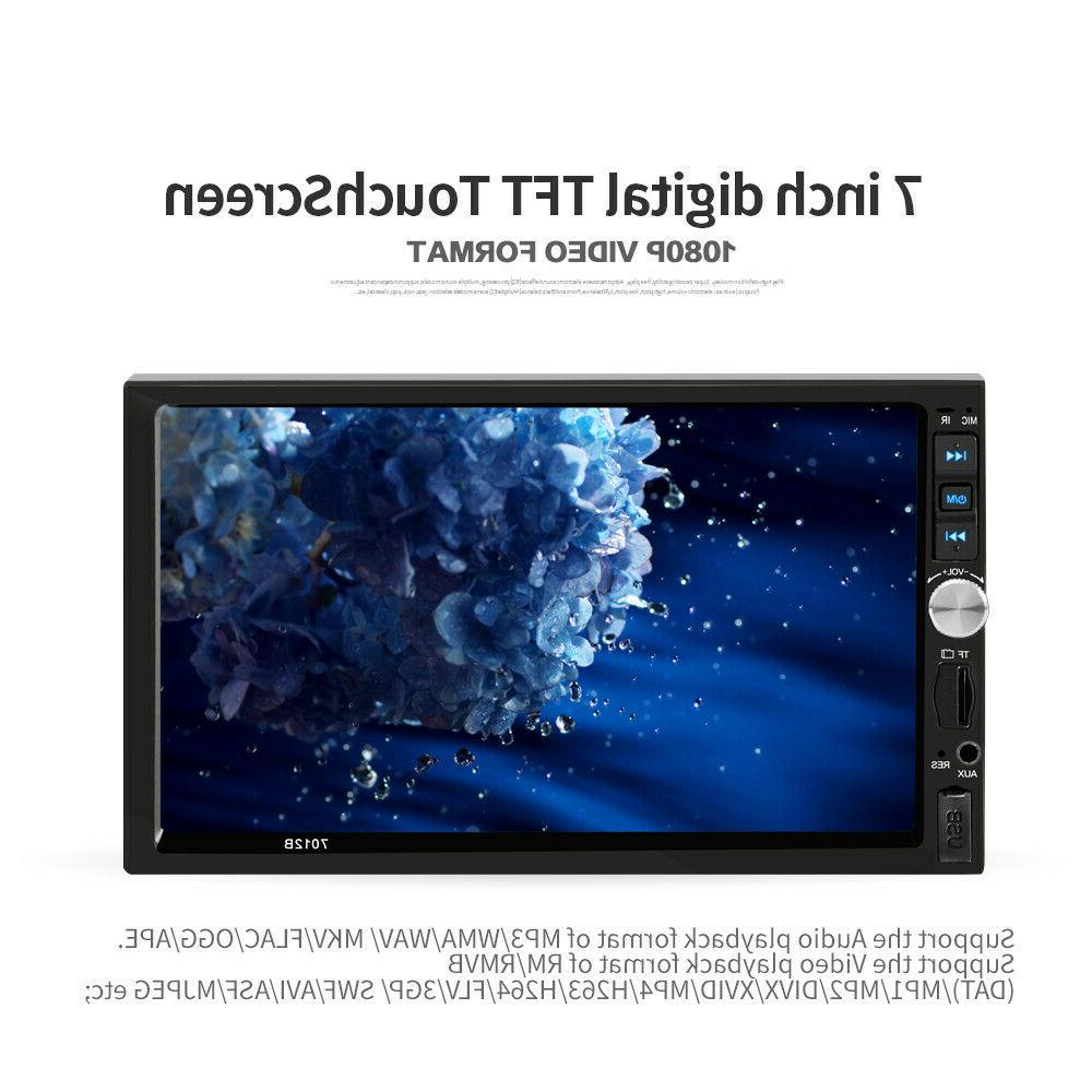 US DOUBLE Car BT Tou+ch Screen HD+Camera