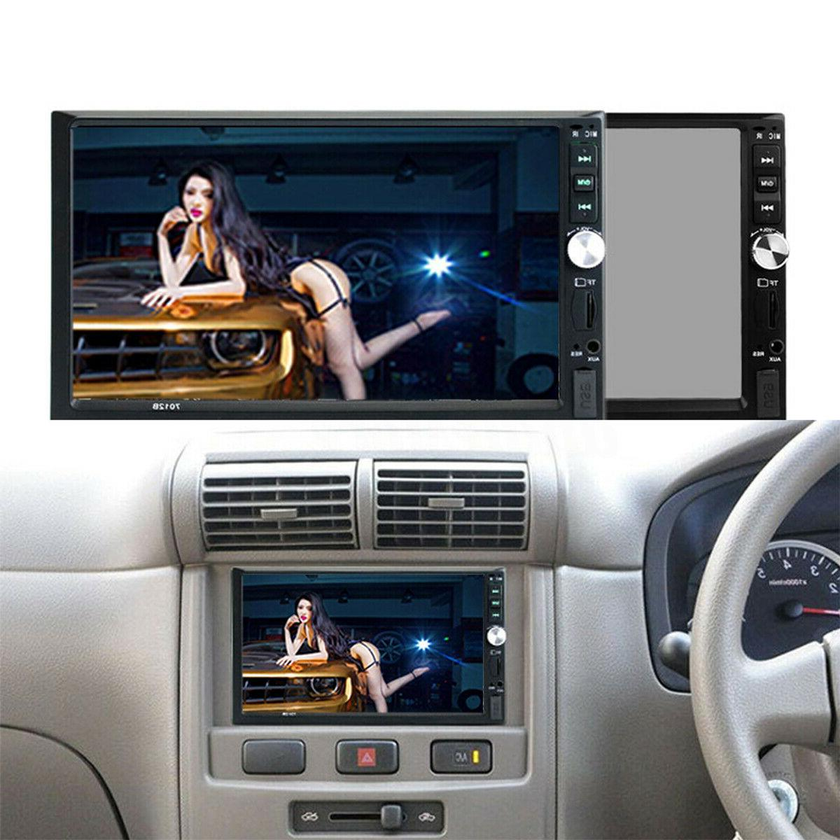 """7"""" inch 2 DIN Car MP5 Player Bluetooth Touch Stereo Radio"""