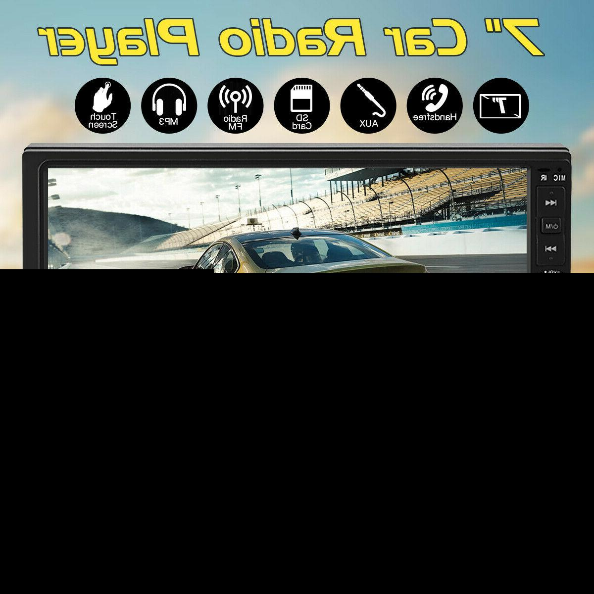 """7"""" 2 DIN Car MP5 Bluetooth Touch Stereo Radio"""