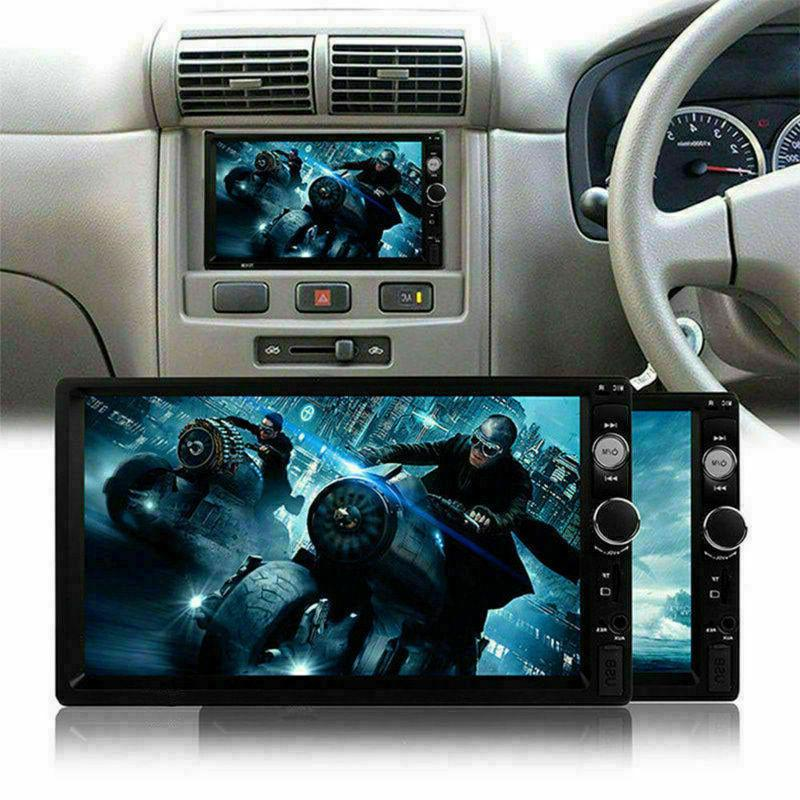 """7"""" inch 2DIN Car MP5 Bluetooth Touch Screen Stereo Radio FM"""