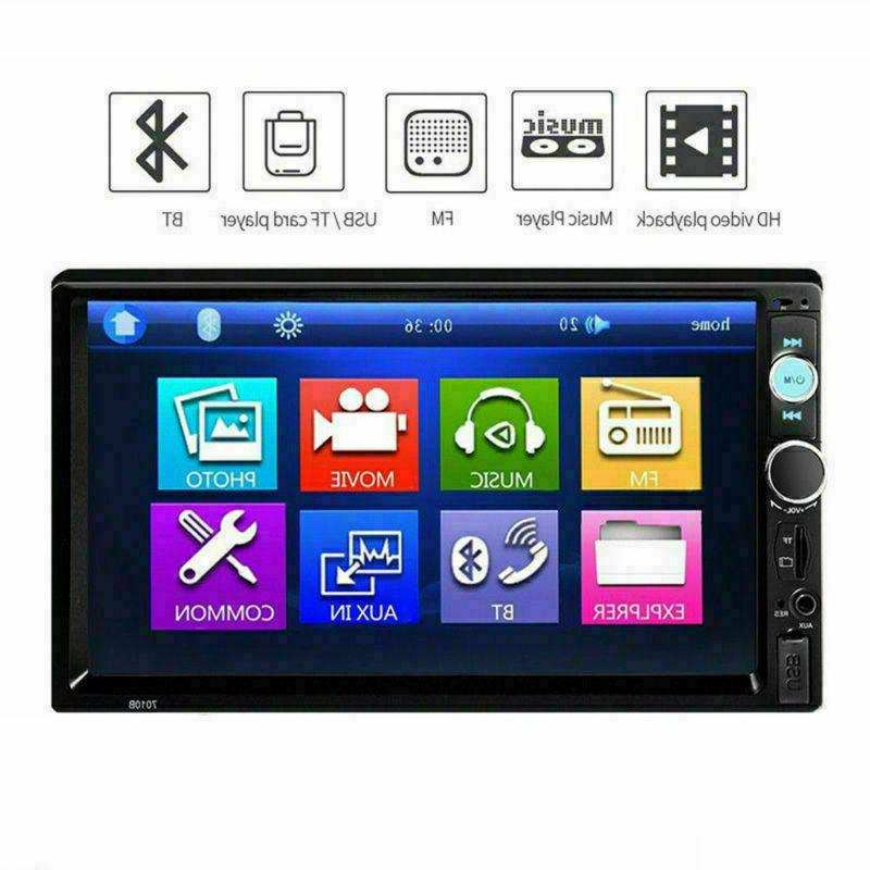 Car Touch Stereo FM