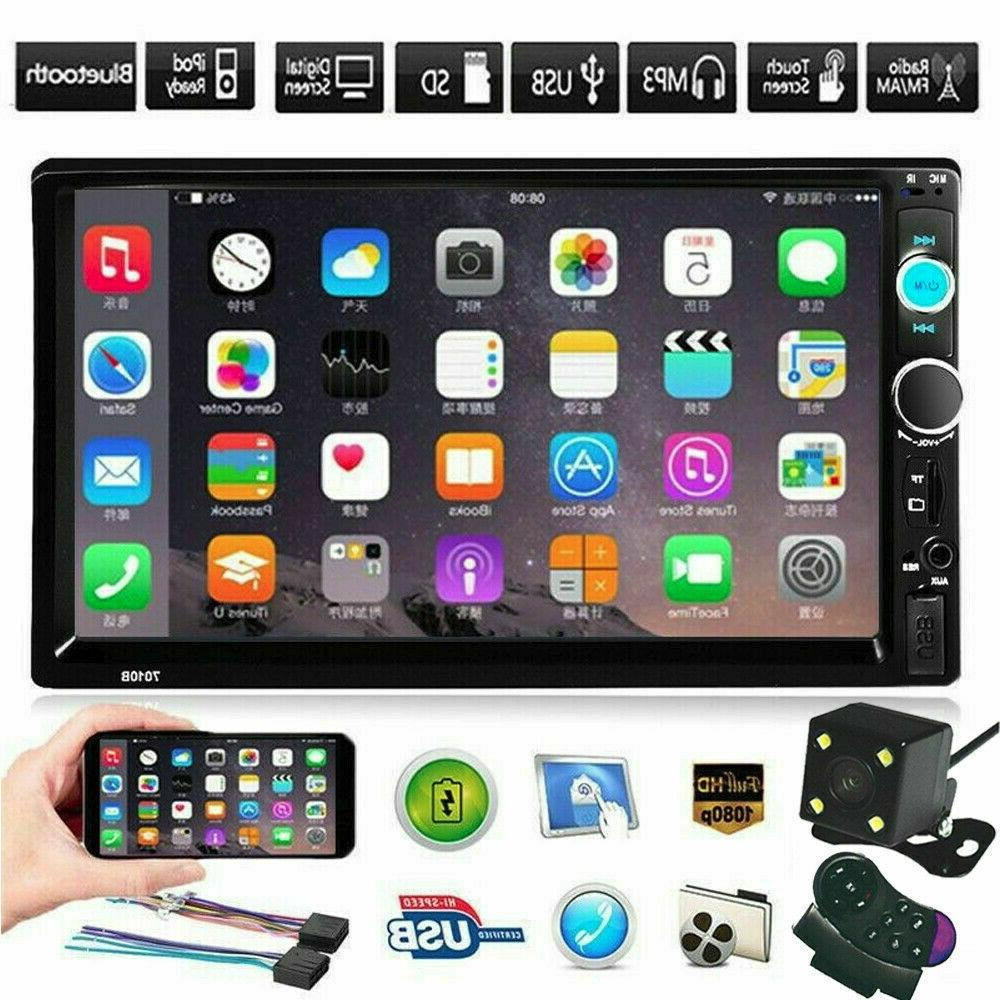 """7"""" Stereo Radio Touch 2Din&Camera"""