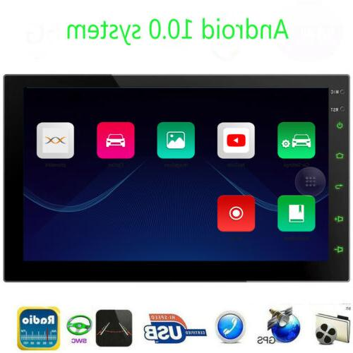 Android 10.0 Touch Screen Double Car Stereo Video Player