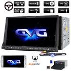 7 Inch Double 2 DIN Stereo Car Stereo CD DVD Player GPS Navi