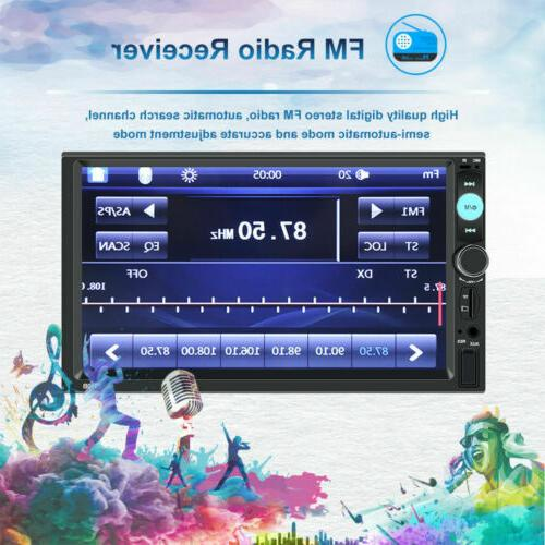 MP5 Player 2 Double Screen FM
